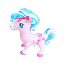 2017 inflatable pvc horse toy