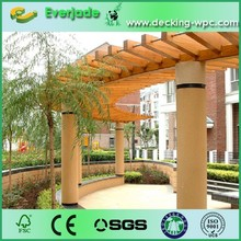 Look here!!! Good price and fraceful plastic composite pergola