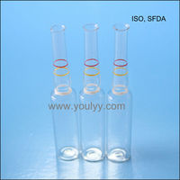 pharmaceutical neutral glass ampoule for injection