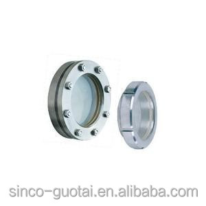 304 316 stainless steel circular sight glass