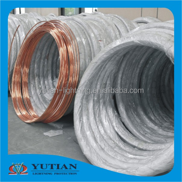 excellent quality reduce resistance copper clad steel stranded copper conductor