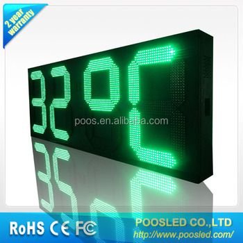 electronic digit sign \ display digit \ digit panel board