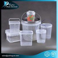 1l~8L HDPE plastic containers with dividers Multiple Colors availble