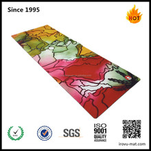 Custom Printed Eco Yoga mat,Natural rubber Non slip custom Yoga Mat, Private Label custom print Yoga mat with carrying strap