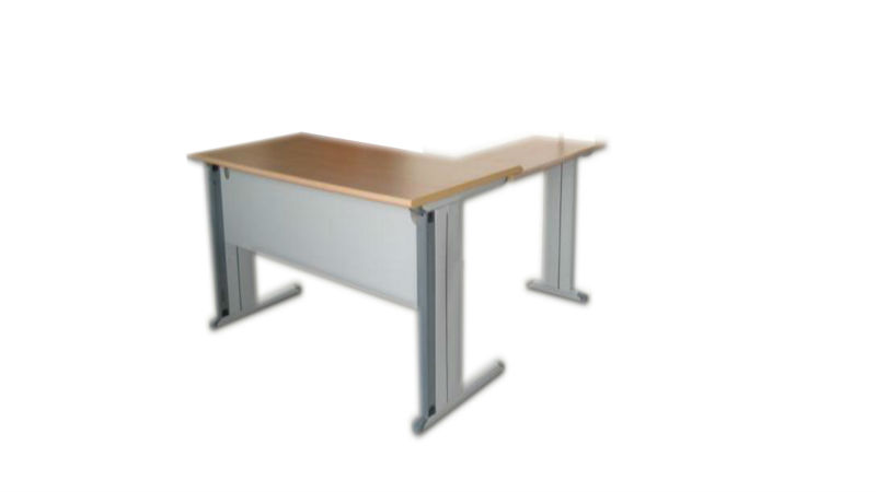 Popular Tempered wooden top teachers desk with mobile drawer cabinet