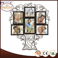 Hot sale Iron Wire Tree decorative designs photo holder, picture photo frame
