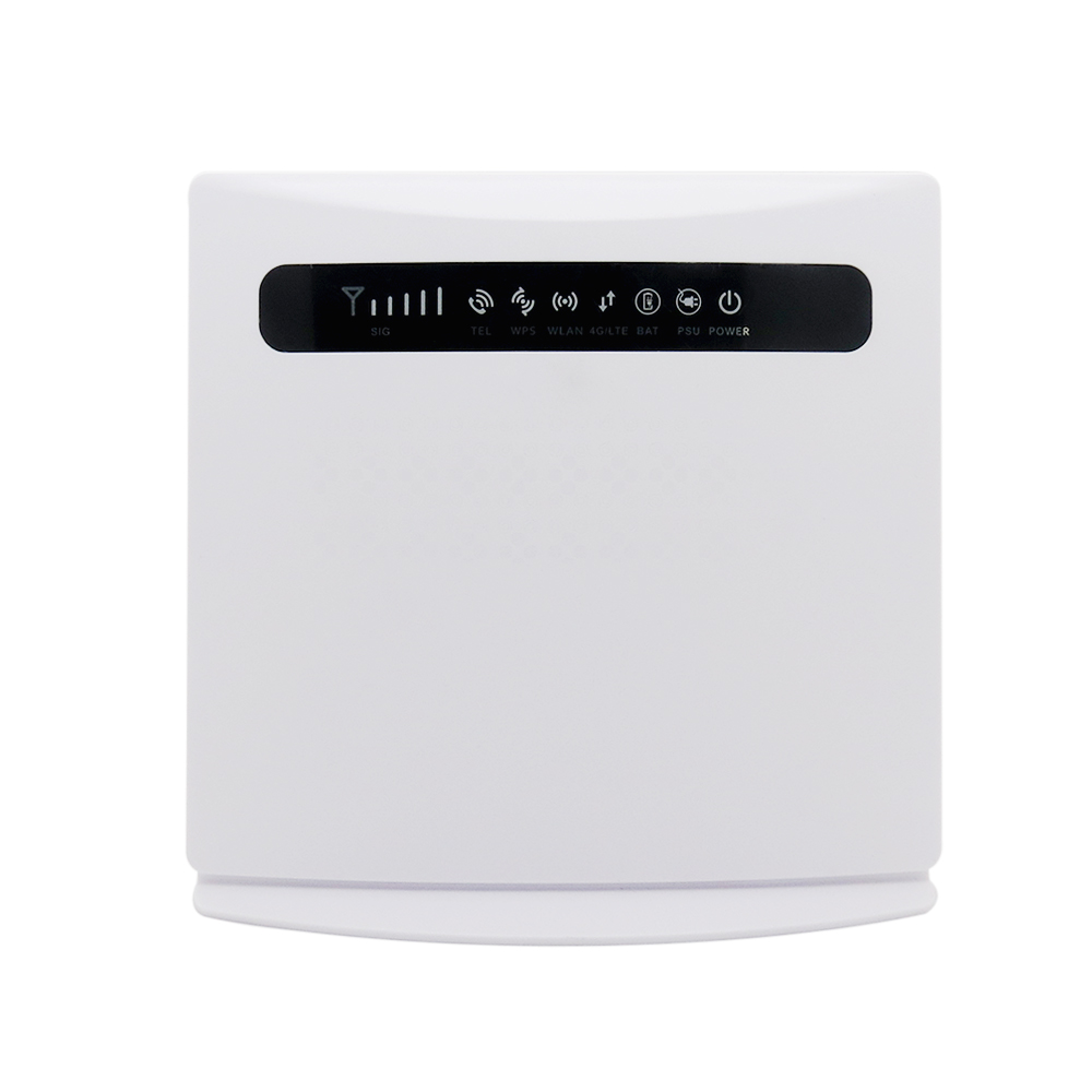 300Mbps sunhans 4G LTE wifi router indoor CPE with sim card slot support 4 lan