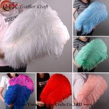 Factory wholesale size 6-30inch cheap large white ostrich feathers for sale Wedding decoration
