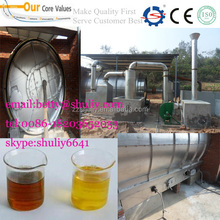 tires to oil equipment best price 2015 new style waste tyre refining machine plastic recycling machine