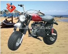 China Supplier ZJMOTO 200CC 2-WHEEL ATV 4 stroke Quad bike Pitbike China Small mini Snowmobiles for sale