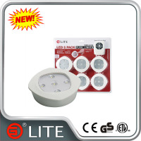 G Lite new design mini led light remote control battery operated rgb puck wireless led under cabinet light