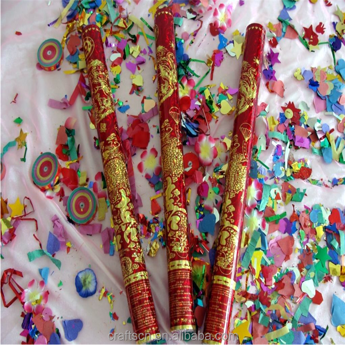 Wholesale Customized Wedding Party Popper Confetti Gun