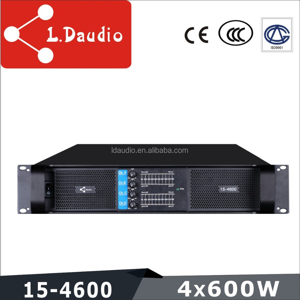 2 channel 600w transfomer high stability professional outdoor power amplifier ca
