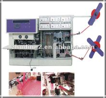 2012 Newly designed!Full automatic one time soft handle bag sealing machine, handle bag sealing machine