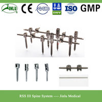 RSS-III Titanium Pedicle Screw Implants, Spine Fusion Instruments Manufacturer China