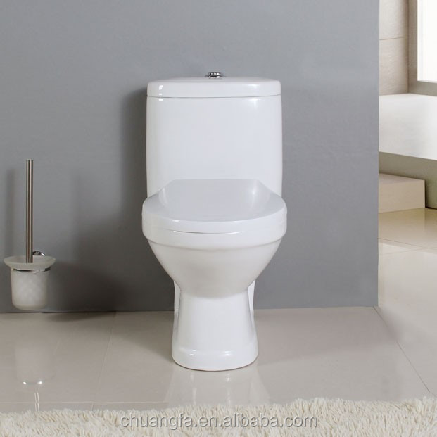 wash down mini size children one piece toilet with dual