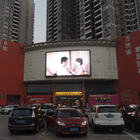 10mm Pixels and Indoor Usage P10 indoor soft/flexible hot sell led display