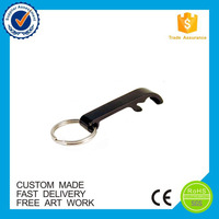 Bulk cheap custom beer aluminum bottle opener keychain