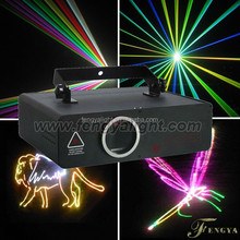 2w rgb full color animation laser SHOW Stage light