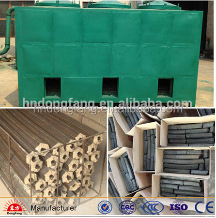 biomass wood/coconut shell bbq charcoal machine for sale