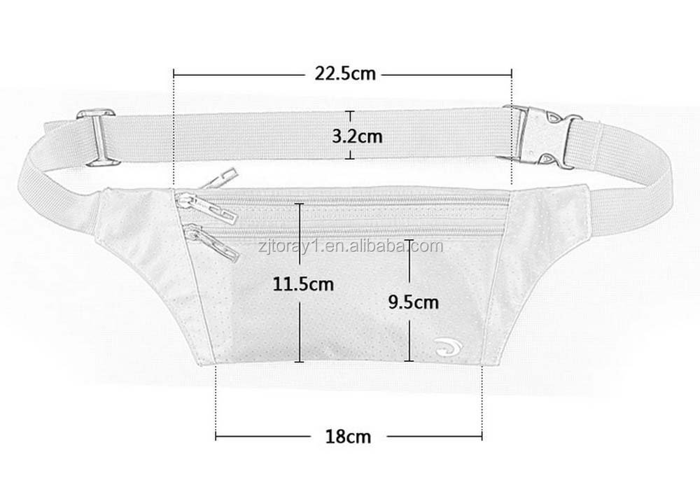 Best-selling Outdoor Sports Waist Pack Fanny Bag For Hiking Travel Climbing Riding Cycling Runing