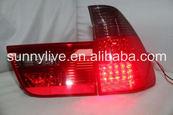 X5 E53 LED Strip Tail Light Rear Lamp For BMW X5 E53 1998-2006 Year Lf Red Smoke