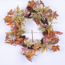 New Style Fantastic Autumn Artificial Silk Garland/Maple Leaves Garland