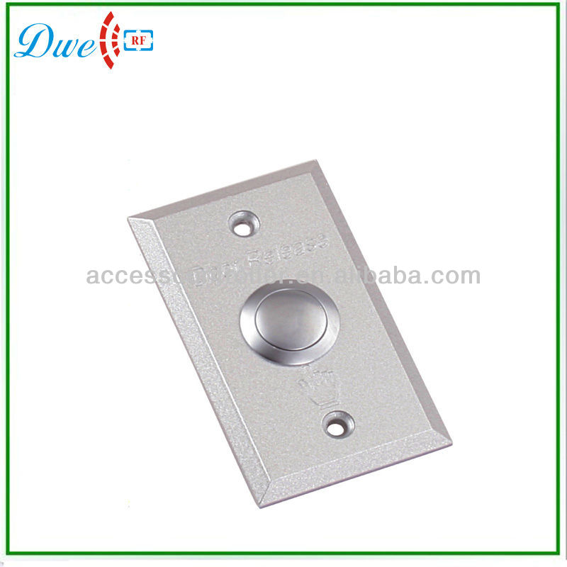 shengzhen 12V access control Aluminum alloy Push button door exit button
