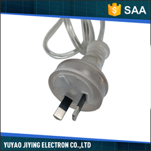China wholesale good quality clear plastic best power cord