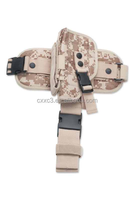 1000D Nylon Digital Camouflage Tactical Pistol Holster