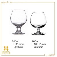 Hot sale trend home party use brandy glass