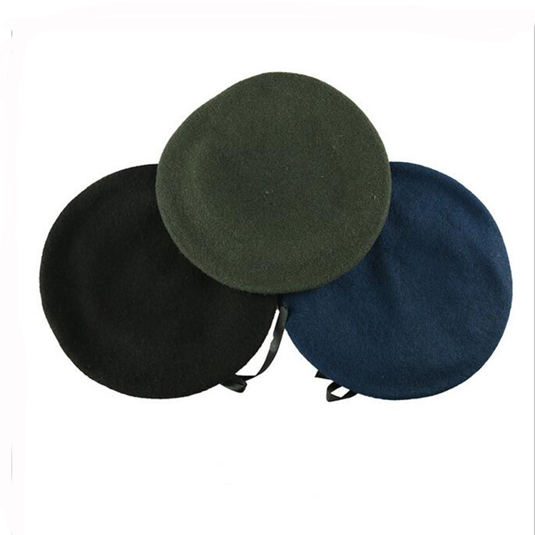 hot sale military beret hats men embroidered beret