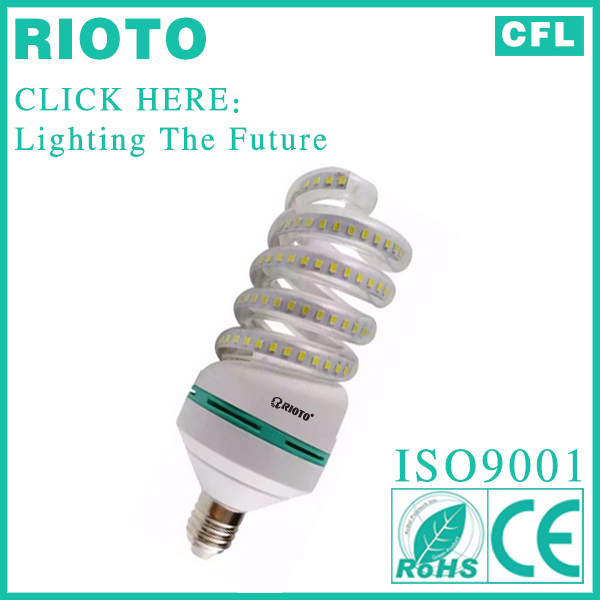 Spiral Energy saving lamp Led corn light bulb 30W in China factory