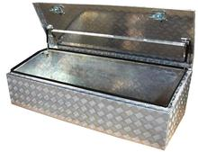 ALUMINUM CHECKER PLATE UTE TOOLBOX - PM12606