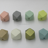 Factory Price 20mm Pastel Geometric Wood