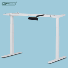 Factory Price Ergonomic Functional Dual Motor Electric Height Adjustable Metal Office Desk Frame Legs