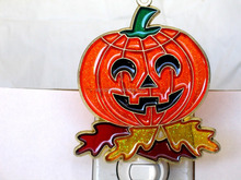 Halloween Pumpkin Metal Keychains, Halloween Promotional Gifts
