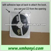 self adhesive PVC CD sleeve