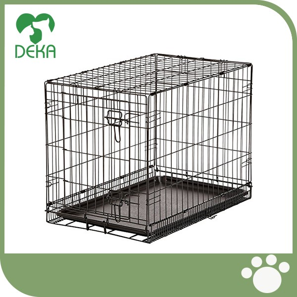 Good quality Folding Metal Dog Cages Crate