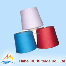 Ring spun <strong>100</strong> pct spun polyester color yarn Supplier for T shirt