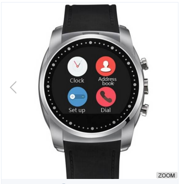 A8 Heart Rate SIM TF Card Supported Touch Screen Smart Sport Watch For Android Phone