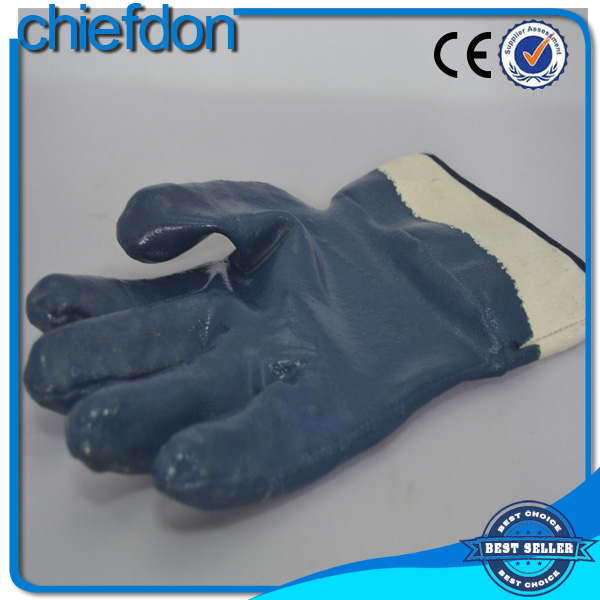 hot sale working safety industrial leather hand gloves