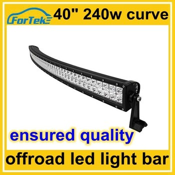 40 Inch Curved Off Road Led Light Bar Cree 240w