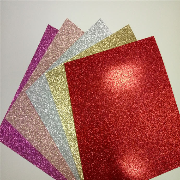 "8.5*11"" glitter paper sheet glitter cardstock paper for <strong>craft</strong>"