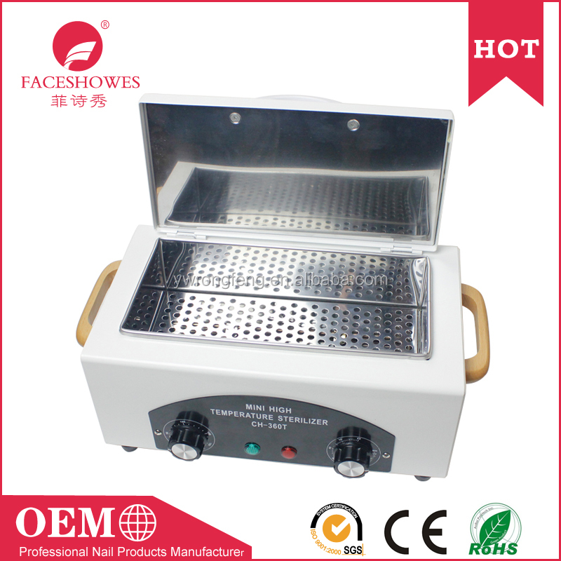 360 degree high temperature anti virus Sterilizer for nail salon and hair beauty instruments