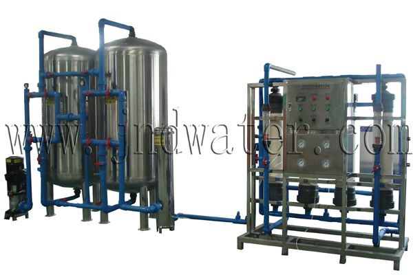Voltage AC 220V / 380V 20000LPH Mineral Water Treatment