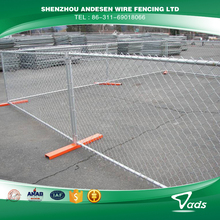 China factory temporary construction chain link fence