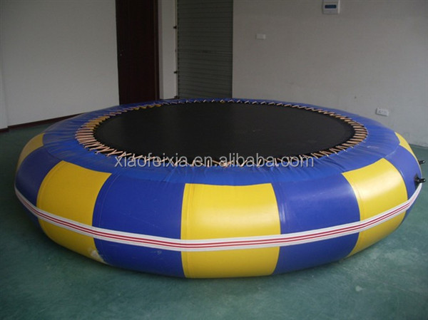 Factory Price Exciting Durable Jumping Inflatable Air Bouncer Water Trampoline for Kids and Adults