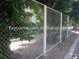 pvc coated stainless steel wire mesh fence for boundary wall
