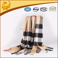 Classical Brushed Real Mongolian High Quality Cashmere Material Hot Selling Winter 100% Cashmere Pashmina